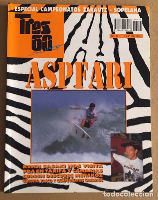 REVISTA TRES 60 SURF AND SKATE Nº 17 (Coleccionismo Deportivo - Revistas y Periódicos - otros Deportes)