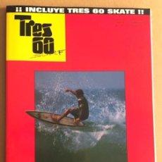 Coleccionismo deportivo: REVISTA TRES 60 SURF AND SKATE Nº 14. Lote 139303426