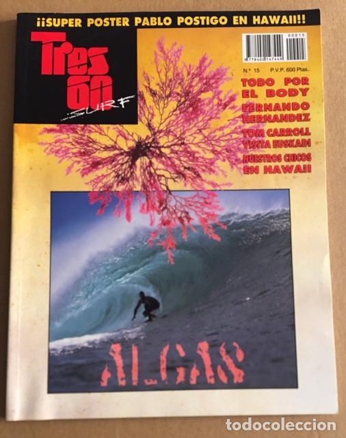 REVISTA TRES 60 SURF Nº 15 (Coleccionismo Deportivo - Revistas y Periódicos - otros Deportes)