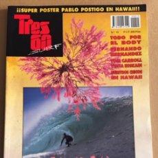 Coleccionismo deportivo: REVISTA TRES 60 SURF Nº 15. Lote 139304554