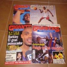 Coleccionismo deportivo: REVISTAS GIGANTES DEL BASKET ESPAÑA AÑOS 90.. Lote 139368508