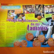 Coleccionismo deportivo: ARTICULO 2006 - ENTREVISTA A PAU GASOL - 2 PAGINA. Lote 139448638