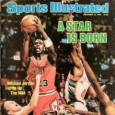 Coleccionismo deportivo: MICHAEL JORDAN - REVISTA ''SPORTS ILLUSTRATED'' (DICIEMBRE DE 1984) - NBA. Lote 139775946