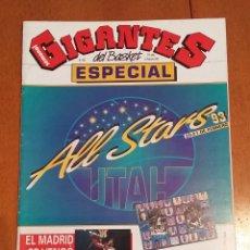 Coleccionismo deportivo: GIGANTES DEL BASKET ESPECIAL Nº381. Lote 140184264