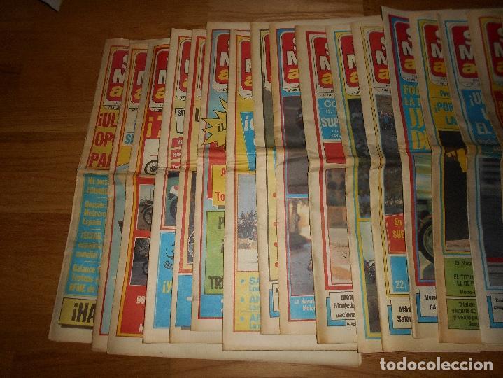 Coleccionismo deportivo: LOTE DE 24 REVISTA SOLO MOTO SOLO MOTO ACTUAL NºS DEL 386 AL 411 A FALTA DEL 394 AÑO 1983 - Foto 2 - 140430438