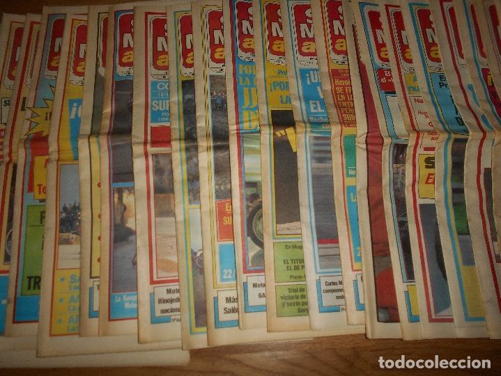 Coleccionismo deportivo: LOTE DE 24 REVISTA SOLO MOTO SOLO MOTO ACTUAL NºS DEL 386 AL 411 A FALTA DEL 394 AÑO 1983 - Foto 3 - 140430438