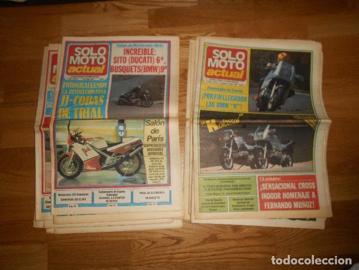 Coleccionismo deportivo: LOTE DE 24 REVISTA SOLO MOTO SOLO MOTO ACTUAL NºS DEL 386 AL 411 A FALTA DEL 394 AÑO 1983 - Foto 11 - 140430438