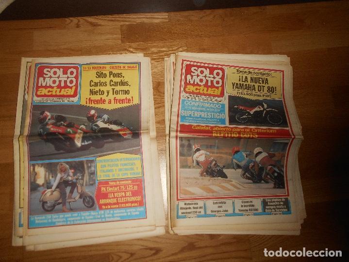 Coleccionismo deportivo: LOTE DE 24 REVISTA SOLO MOTO SOLO MOTO ACTUAL NºS DEL 386 AL 411 A FALTA DEL 394 AÑO 1983 - Foto 13 - 140430438