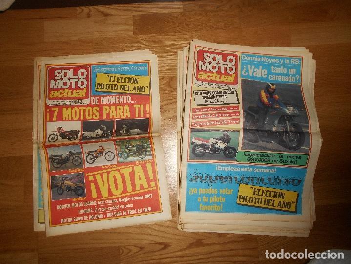Coleccionismo deportivo: LOTE DE 24 REVISTA SOLO MOTO SOLO MOTO ACTUAL NºS DEL 386 AL 411 A FALTA DEL 394 AÑO 1983 - Foto 16 - 140430438