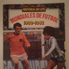 Coleccionismo deportivo: HISTORIA DE LOS MUNDIALES DE FUTBOL 1930-1982.VER FOTOS.TIPO COMIC. Lote 141135536
