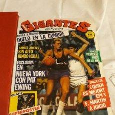Coleccionismo deportivo: REVISTA DE BALONCESTO GIGANTES DEL BASKET. NÚMEROS DEL 1 AL 25. Lote 141490906