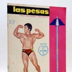 Coleccionismo deportivo: REVISTA LAS PESAS FISICO CULTURISMO Y HALTEROFILIA 103. GIUSEPPE DEIANA (VVAA) ALAS, 1972. IFBB. Lote 141685108