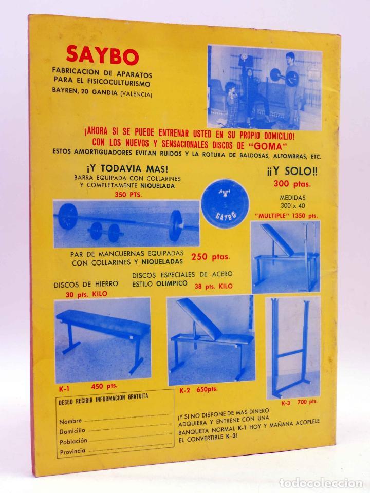 Coleccionismo deportivo: REVISTA LAS PESAS FISICO CULTURISMO Y HALTEROFILIA 103. GIUSEPPE DEIANA (VVAA) Alas, 1972. IFBB - Foto 2 - 141685108