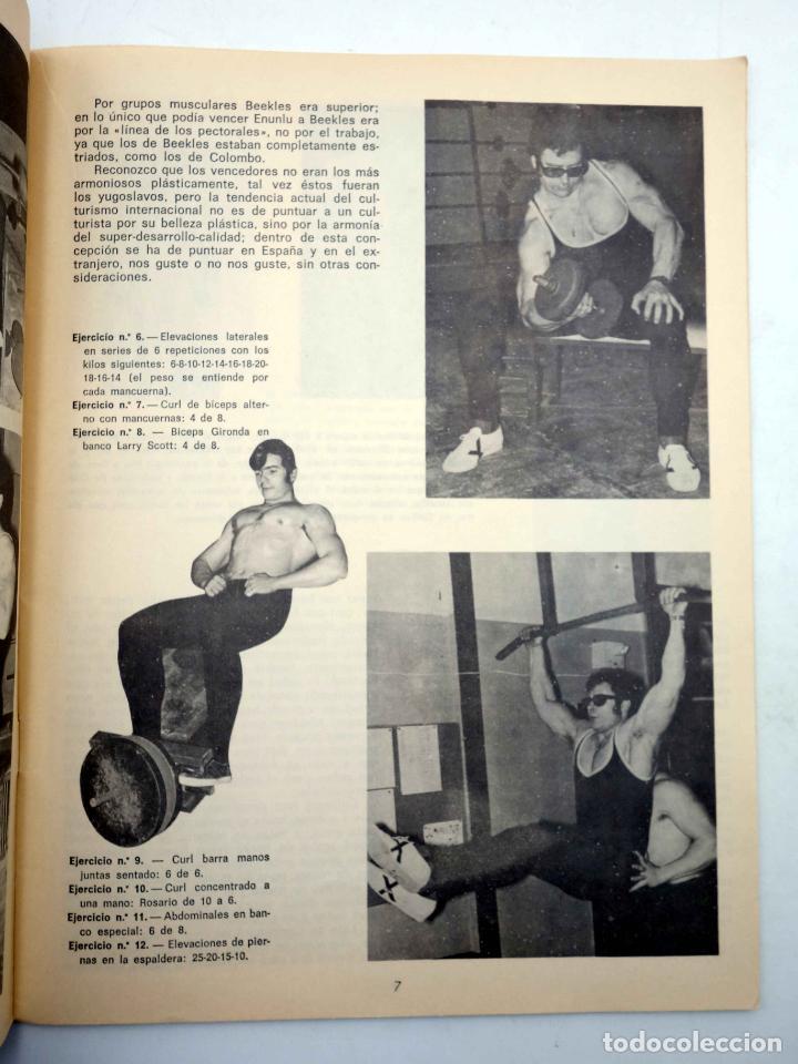 Coleccionismo deportivo: REVISTA LAS PESAS FISICO CULTURISMO Y HALTEROFILIA 103. GIUSEPPE DEIANA (VVAA) Alas, 1972. IFBB - Foto 4 - 141685108