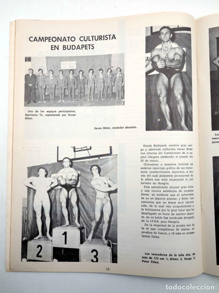 Coleccionismo deportivo: REVISTA LAS PESAS FISICO CULTURISMO Y HALTEROFILIA 104. ANTONIO LARA (VVAA) Alas, 1972. IFBB - Foto 5 - 180152085