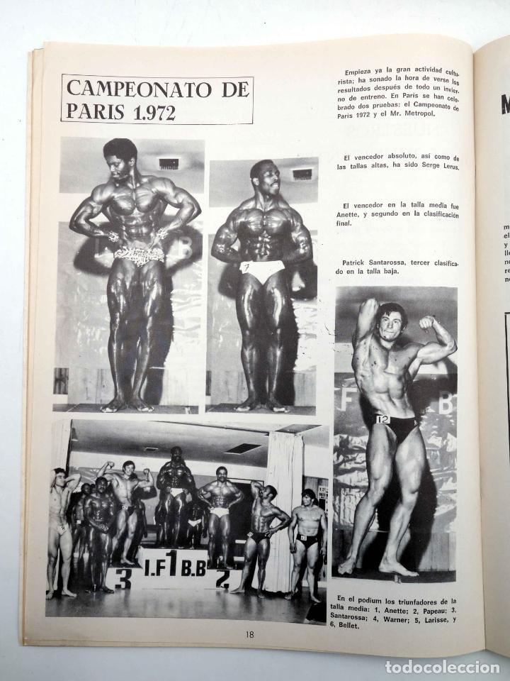 Coleccionismo deportivo: REVISTA LAS PESAS FISICO CULTURISMO Y HALTEROFILIA 104. ANTONIO LARA (VVAA) Alas, 1972. IFBB - Foto 6 - 180152085