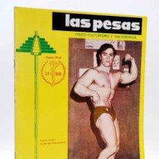 Coleccionismo deportivo: REVISTA LAS PESAS FISICO CULTURISMO Y HALTEROFILIA 105. CARLOS VISEDO (VVAA) ALAS, 1972. IFBB. Lote 180152096