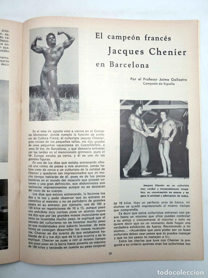 Coleccionismo deportivo: REVISTA LAS PESAS FISICO CULTURISMO Y HALTEROFILIA 108. CAMPEONATO DE ANDALUCIA. Alas, 1972. IFBB - Foto 6 - 141685124