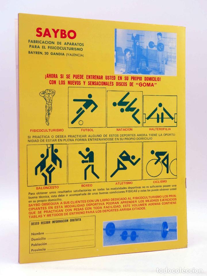 Coleccionismo deportivo: REVISTA LAS PESAS FISICO CULTURISMO Y HALTEROFILIA 110. MIKE KATZ MR OLIMPIA 1972. Alas, 1972. IFBB - Foto 2 - 180152091