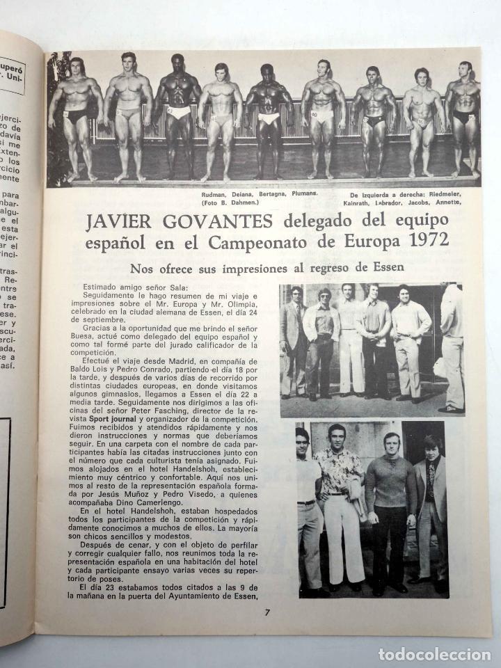 Coleccionismo deportivo: REVISTA LAS PESAS FISICO CULTURISMO Y HALTEROFILIA 110. MIKE KATZ MR OLIMPIA 1972. Alas, 1972. IFBB - Foto 5 - 180152091