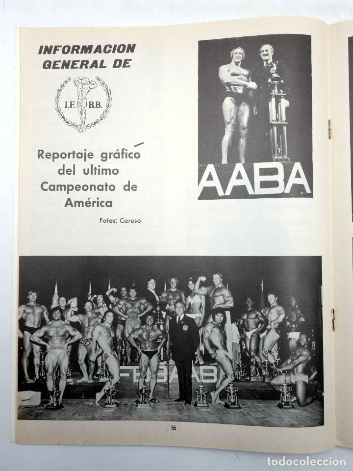 Coleccionismo deportivo: REVISTA LAS PESAS FISICO CULTURISMO Y HALTEROFILIA 110. MIKE KATZ MR OLIMPIA 1972. Alas, 1972. IFBB - Foto 6 - 180152091