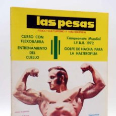 Coleccionismo deportivo: REVISTA LAS PESAS FISICO CULTURISMO Y HALTEROFILIA 111. JANKO RUDMANN CAMPEÓN EUROPA., 1973. IFBB. Lote 180152092