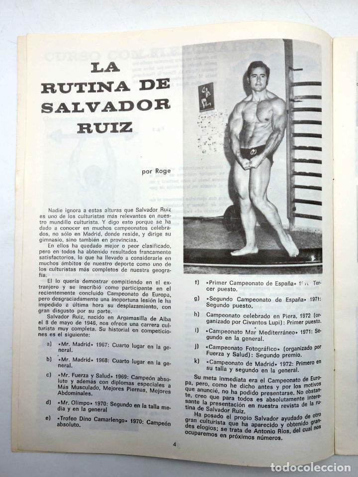Coleccionismo deportivo: REVISTA LAS PESAS FISICO CULTURISMO Y HALTEROFILIA 111. JANKO RUDMANN CAMPEÓN EUROPA., 1973. IFBB - Foto 4 - 180152092