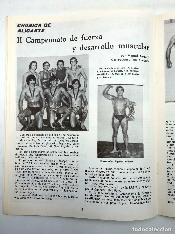 Coleccionismo deportivo: REVISTA LAS PESAS FISICO CULTURISMO Y HALTEROFILIA 111. JANKO RUDMANN CAMPEÓN EUROPA., 1973. IFBB - Foto 6 - 180152092