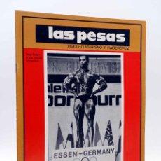 Coleccionismo deportivo: REVISTA LAS PESAS FISICO CULTURISMO Y HALTEROFILIA 112. SERGE NUBRET (VVAA) ALAS, 1973. IFBB. Lote 180152102