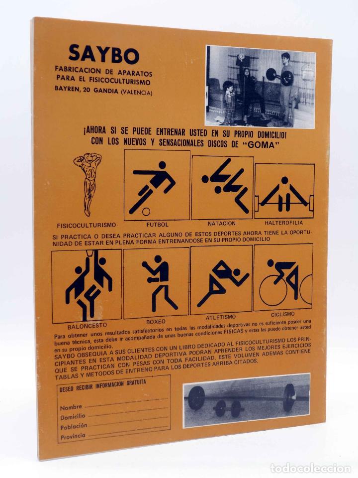 Coleccionismo deportivo: REVISTA LAS PESAS FISICO CULTURISMO Y HALTEROFILIA 112. SERGE NUBRET (VVAA) Alas, 1973. IFBB - Foto 4 - 180152102