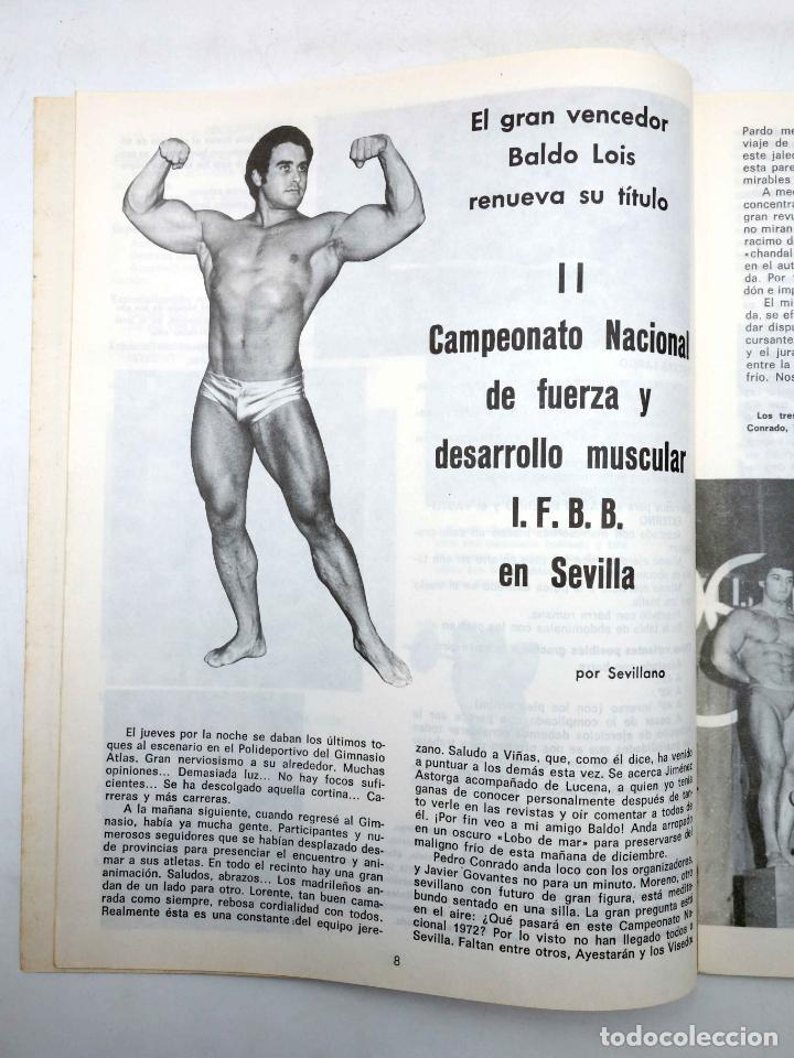 Coleccionismo deportivo: REVISTA LAS PESAS FISICO CULTURISMO Y HALTEROFILIA 112. SERGE NUBRET (VVAA) Alas, 1973. IFBB - Foto 2 - 180152102