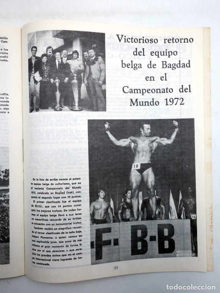 Coleccionismo deportivo: REVISTA LAS PESAS FISICO CULTURISMO Y HALTEROFILIA 112. SERGE NUBRET (VVAA) Alas, 1973. IFBB - Foto 3 - 180152102