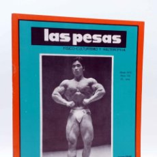 Coleccionismo deportivo: REVISTA LAS PESAS FISICO CULTURISMO Y HALTEROFILIA 113. KENICHI SUEMITSUE (VVAA) ALAS, 1973. IFBB. Lote 141685144