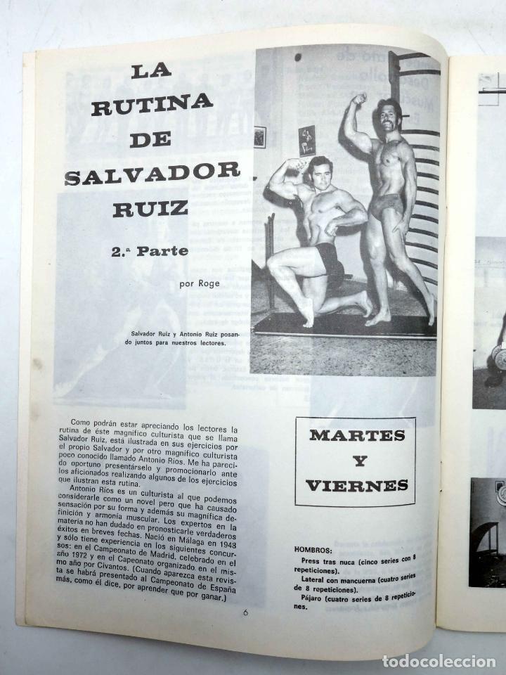 Coleccionismo deportivo: REVISTA LAS PESAS FISICO CULTURISMO Y HALTEROFILIA 113. KENICHI SUEMITSUE (VVAA) Alas, 1973. IFBB - Foto 4 - 141685144