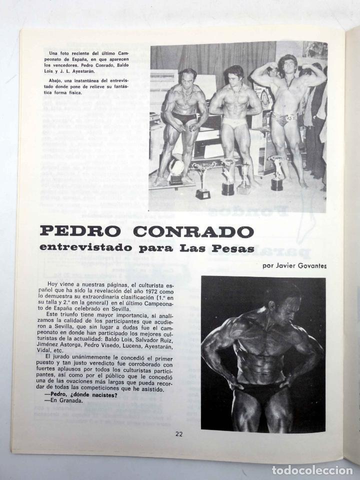 Coleccionismo deportivo: REVISTA LAS PESAS FISICO CULTURISMO Y HALTEROFILIA 113. KENICHI SUEMITSUE (VVAA) Alas, 1973. IFBB - Foto 5 - 141685144