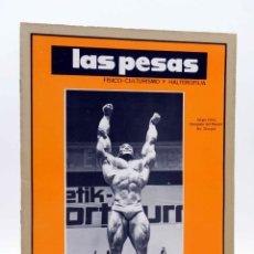 Coleccionismo deportivo: REVISTA LAS PESAS FISICO CULTURISMO Y HALTEROFILIA 114. SERGIO OLIVA (VVAA) ALAS, 1973. IFBB. Lote 180152100