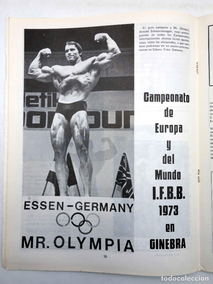 Coleccionismo deportivo: REVISTA LAS PESAS FISICO CULTURISMO Y HALTEROFILIA 114. SERGIO OLIVA (VVAA) Alas, 1973. IFBB - Foto 4 - 180152100