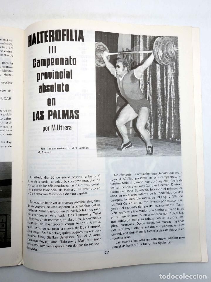Coleccionismo deportivo: REVISTA LAS PESAS FISICO CULTURISMO Y HALTEROFILIA 114. SERGIO OLIVA (VVAA) Alas, 1973. IFBB - Foto 5 - 180152100