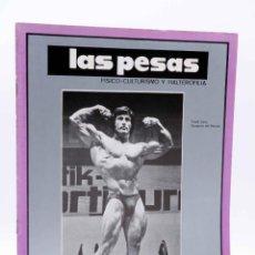 Coleccionismo deportivo: REVISTA LAS PESAS FISICO CULTURISMO Y HALTEROFILIA 115. FRANK ZANE (VVAA) ALAS, 1973. IFBB. Lote 180152107