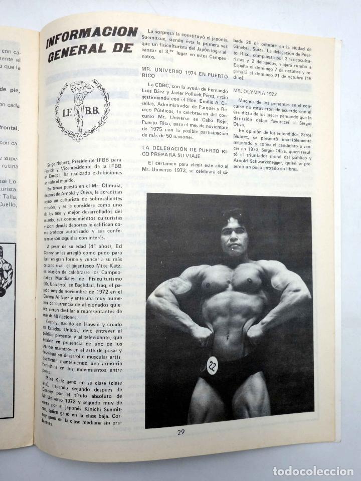 Coleccionismo deportivo: REVISTA LAS PESAS FISICO CULTURISMO Y HALTEROFILIA 117. SALVADOR RUIZ (VVAA) Alas, 1973. IFBB - Foto 5 - 141685160