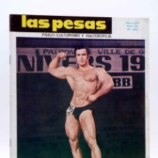 Coleccionismo deportivo: REVISTA LAS PESAS FISICO CULTURISMO Y HALTEROFILIA 125. AHMET ENULU (VVAA) ALAS, 1974. IFBB. Lote 180152070