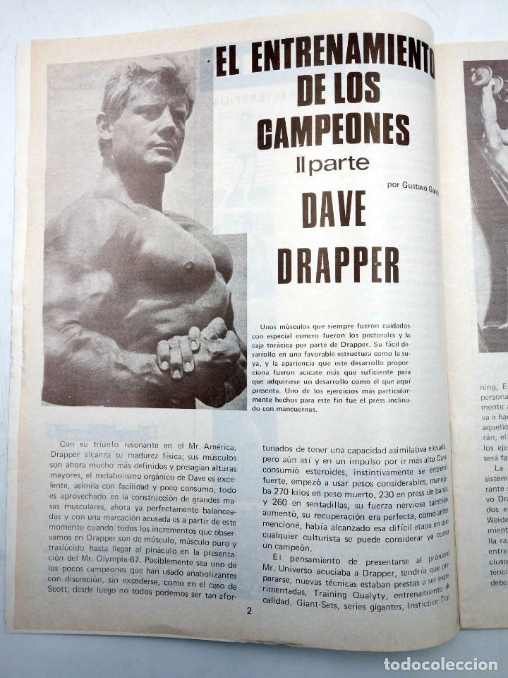 Coleccionismo deportivo: REVISTA LAS PESAS FISICO CULTURISMO Y HALTEROFILIA 125. AHMET ENULU (VVAA) Alas, 1974. IFBB - Foto 5 - 180152070