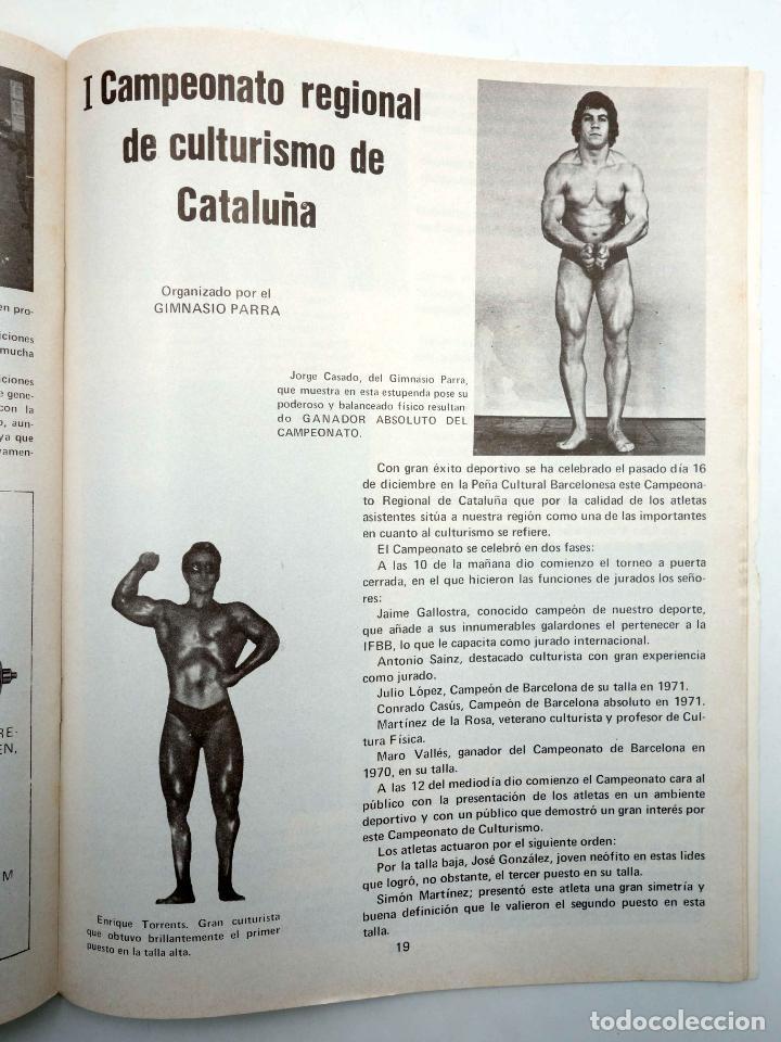 Coleccionismo deportivo: REVISTA LAS PESAS FISICO CULTURISMO Y HALTEROFILIA 125. AHMET ENULU (VVAA) Alas, 1974. IFBB - Foto 6 - 180152070
