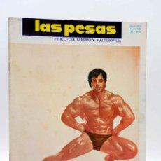 Coleccionismo deportivo: REVISTA LAS PESAS FISICO CULTURISMO Y HALTEROFILIA 126. GIUSEPPE DEIANA (VVAA) ALAS, 1974. IFBB. Lote 147676897