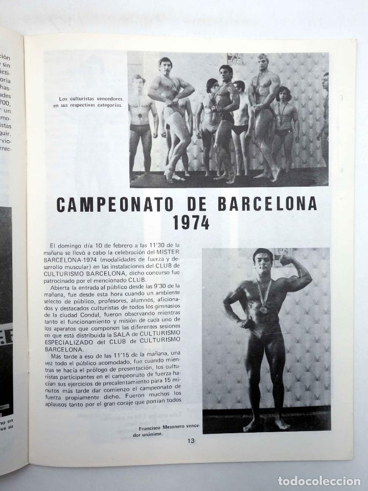 Coleccionismo deportivo: REVISTA LAS PESAS FISICO CULTURISMO Y HALTEROFILIA 126. GIUSEPPE DEIANA (VVAA) Alas, 1974. IFBB - Foto 4 - 147676897