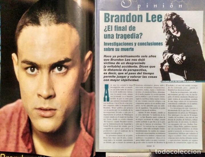 Coleccionismo deportivo: Brandon Lee - Tres revistas de artes marciales Dojo - Foto 4 - 141853534