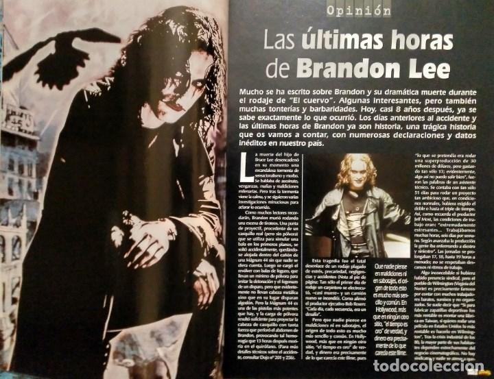 Coleccionismo deportivo: Brandon Lee - Tres revistas de artes marciales Dojo - Foto 2 - 141853534