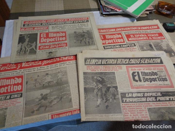 Coleccionismo deportivo: Lote de catorce periódicos Mundo Deportivo año 1958 - Foto 3 - 142596914