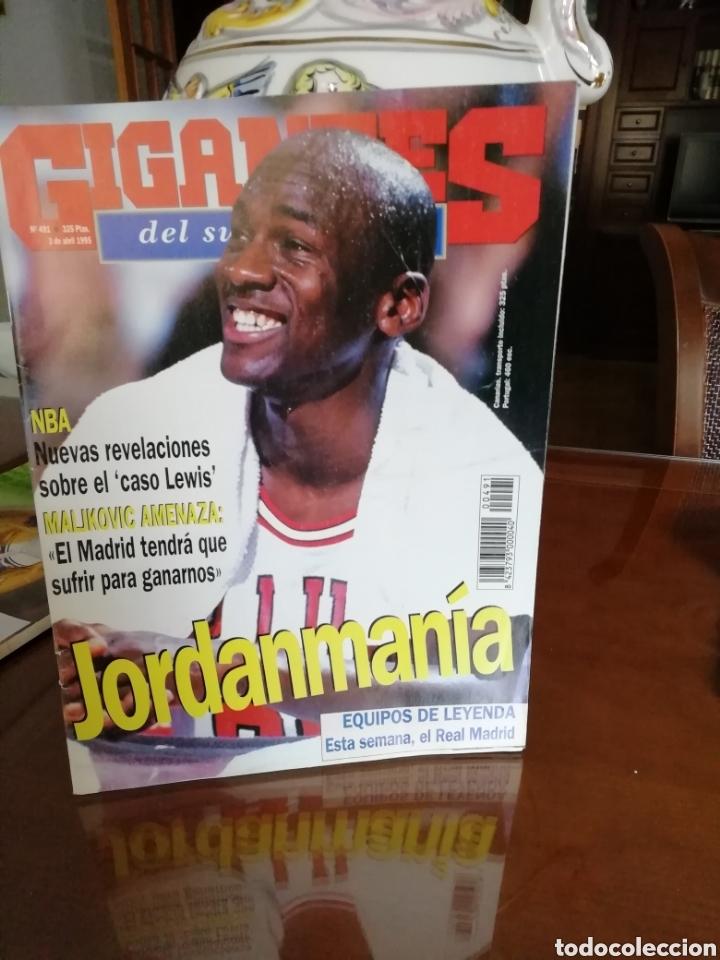 REVISTA GIGANTES BASKET . MICHAEL JORDAN 1995 (Coleccionismo Deportivo - Revistas y Periódicos - otros Deportes)