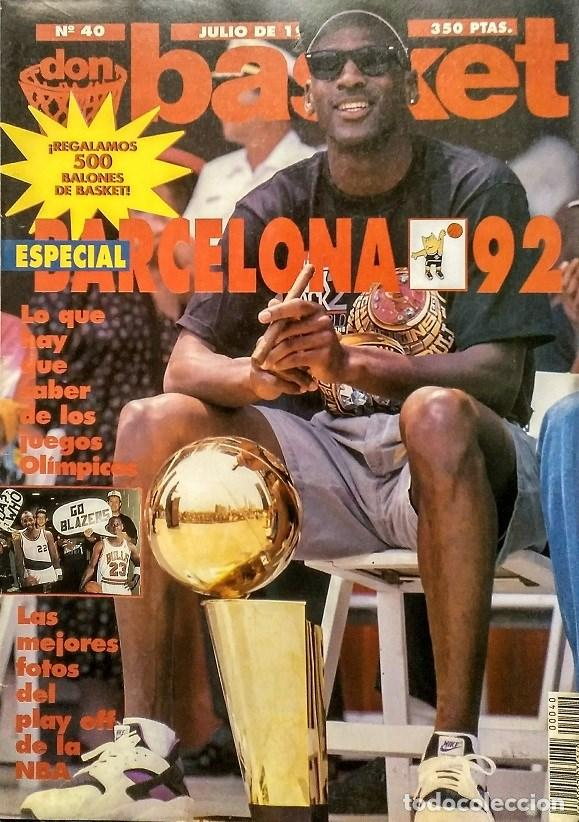 MICHAEL JORDAN - REVISTA ''DON BASKET'' (JULIO 1992) - ''DREAM TEAM'' - NBA (Coleccionismo Deportivo - Revistas y Periódicos - otros Deportes)